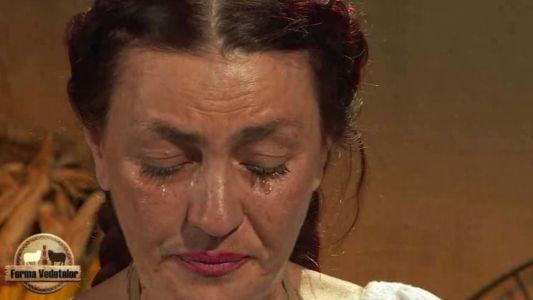 Singurul concurent care a incercat sa o consoleze pe Rona, dupa ce a aflat verdictul fermierilor