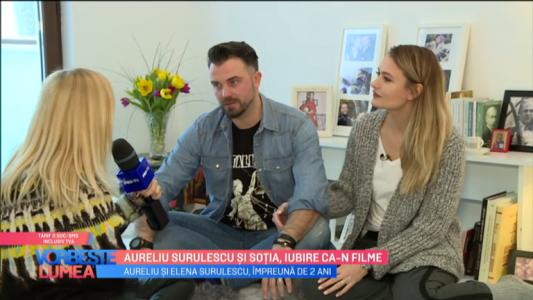 Aureliu Surulescu si sotia, iubire ca-n filme