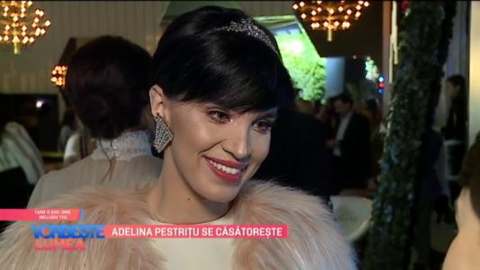 Adelina Pestritu se casatoreste