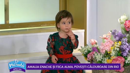Amalia Enache si fiica Alma, povesti calduroase din Rio