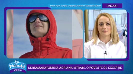 Ultramaratonista Adriana Istrate, o poveste de exceptie