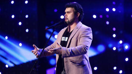 "Romanii au talent 2018: Valentin Vasopol - Interpreteaza   piesa ""Parla Più Piano"""