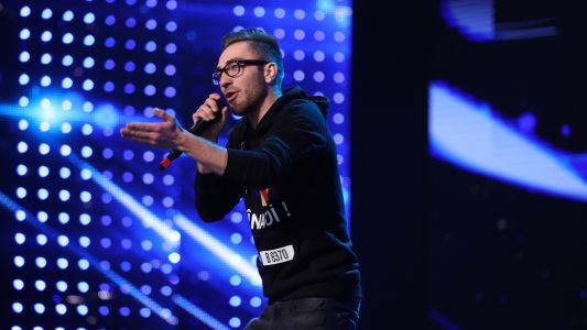 Romanii au talent 2018: Roberto Tanu - Moment de rap