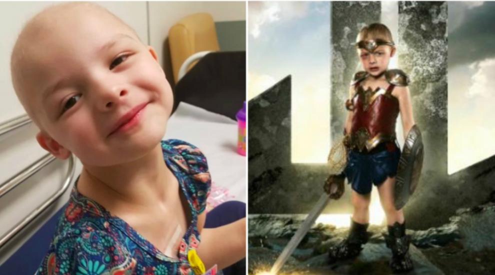 Un fotograf a transformat copiii cu probleme grave de sanatate in supereroi