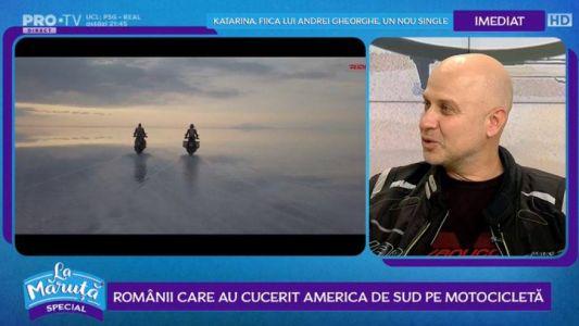 Romanii care au cucerit America de Sud pe motocicleta