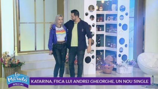 Katarina, fiica lui Andrei Gheorghe, un nou single