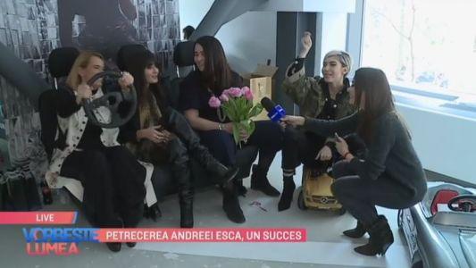 Petrecerea Andreei Esca, un succes