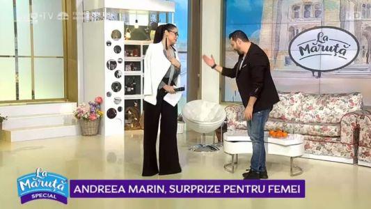 Andreea Marin, surpriza pentru femei