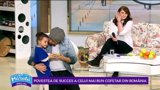 Povestea de succes a celui mai bun cofetar din Romania