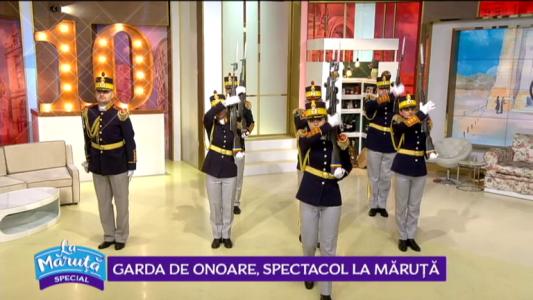 Garda de onoare, spectacol La Maruta
