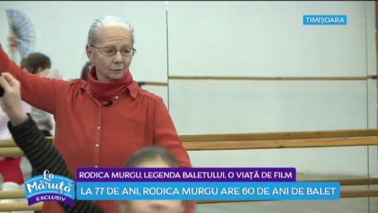 Rodica Murgu, legenda baletului