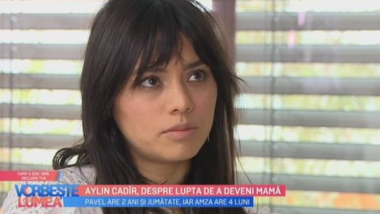 Aylin Cadir, despre lupta de a deveni mama