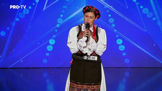 Romanii au talent 2018: Andreea Ghitiu - Cantec popular