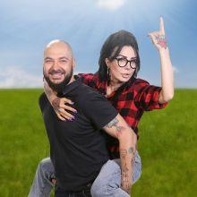 Cristi Mitrea si DJ Wanda