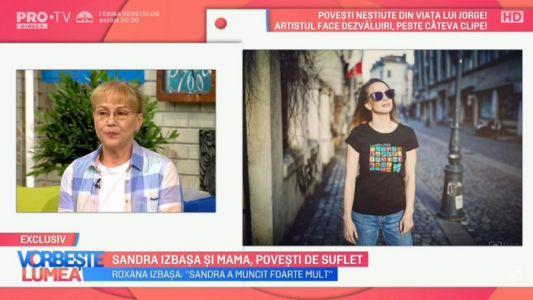 Sandra Izbasa si mama, povesti de suflet