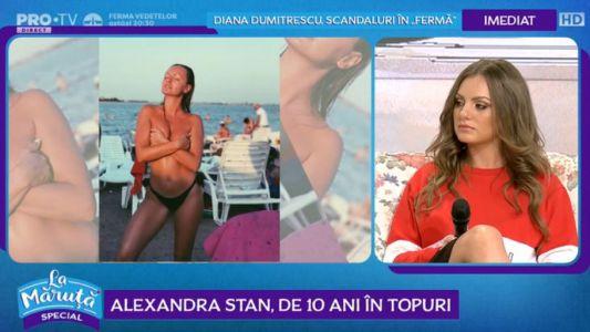 Alexandra Stan, de 10 ani in topuri