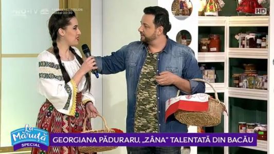 "Georgiana Paduraru, ,,zana"" talentata din Bacau"