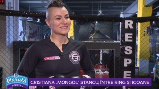 "Cristiana ,,Mongol"" Stancu, intre ring si icoane"