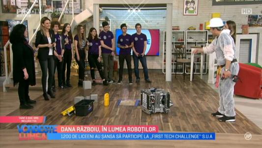 Dana Razboiu, in lumea robotilor