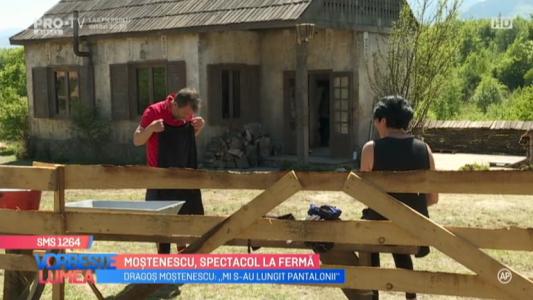 Mostenescu, spectacol la Ferma