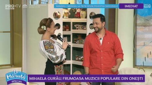 Mihaela Gurau, frumoasa muzicii populare din Onesti