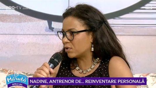Nadine, antrenor de...reinventare personala