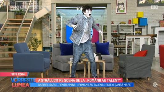 """A stralucit pe scena de la """"Romanii au talent"""""""