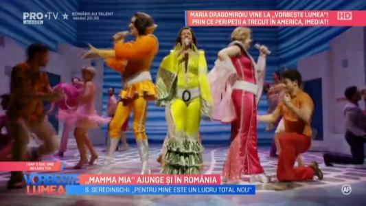 """""""Mama Mia"""" ajunge si in Romania"""