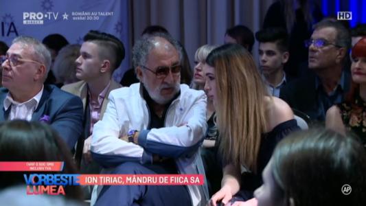 Ion Tiriac, mandru de fiica sa