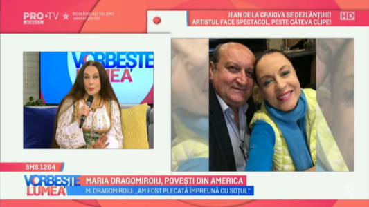 Maria Dragomiroiu, povesti din America