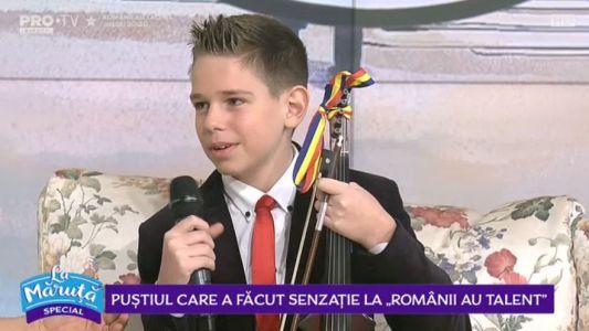 Pustiul care a facut senzatie la Romanii au talent