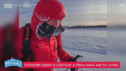 Tibi Useriu a castigat a treia oara Arctic Ultra