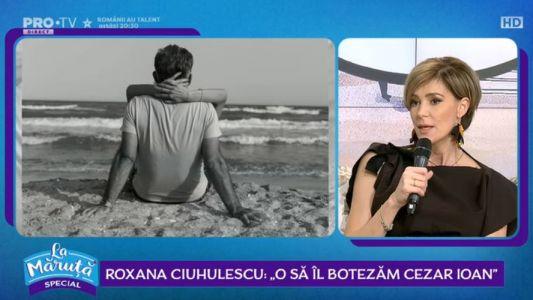 Roxana Ciuhulescu este insarcinata in sase luni