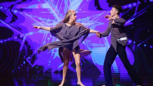 Romanii au talent 2018: Dan Tanas si Alina Sclearov - Dans contemporan