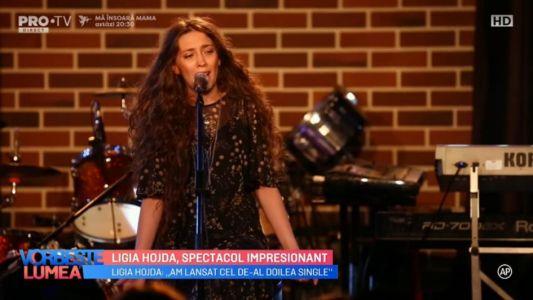 Ligia Hojda, spectacol impresionant