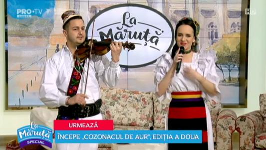 Anuta Iuga si Lucian Madiar, frumosii de la Maramu`
