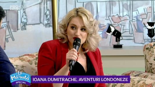 Ioana Dumitrache, aventuri londoneze