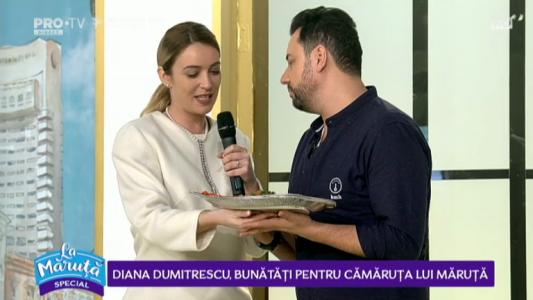 Diana Dumitrescu, bunatati pentru camaruta lui Maruta