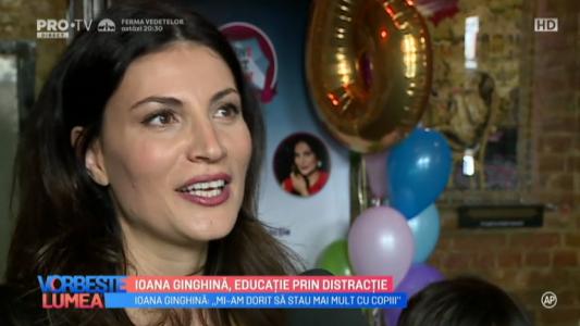 Ioana Ginghina, educatie prin distractie