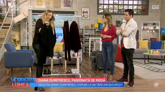 Diana Dumitrescu, pasionata de moda