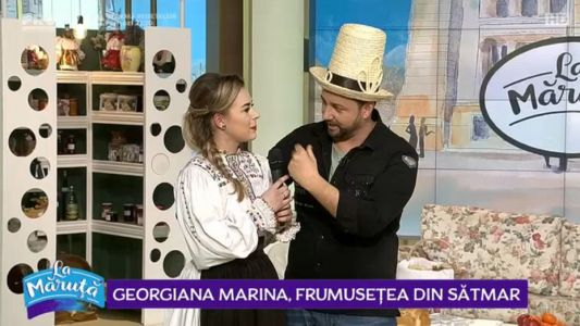 Georgiana Marina, frumusetea din Satmar