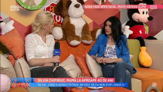 Silvia Chifiriuc, mama la aproape 40 de ani