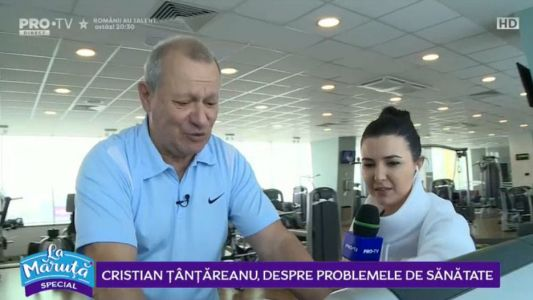 Cristian Tantareanu, despre problemele de sanatate
