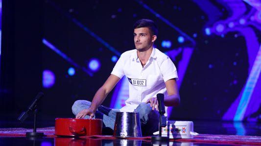 Romanii au talent 2018: Andrei Florea - Moment de percutie la oale