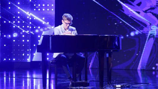 Romanii au talent 2018: Cadmiel Botac - Canta la pian