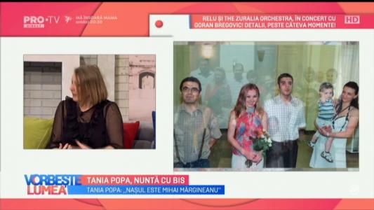 Tania Popa, nunta cu bis