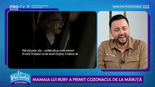 Mamaia lui Ruby a primit cozonacul de la Maruta