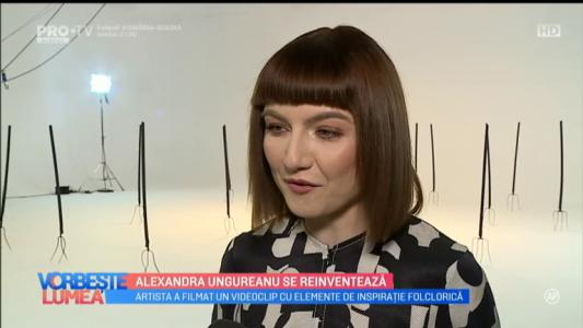 Alexandra Ungureanu se reinventeaza