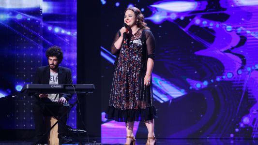 Romanii au talent 2018: Ela Sol - Voce si cajon