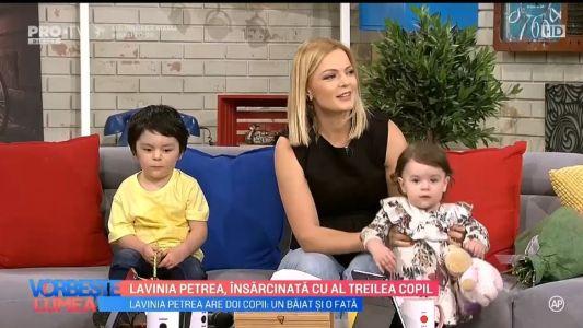 Lavinia Petrea, insarcinata cu al treilea copil
